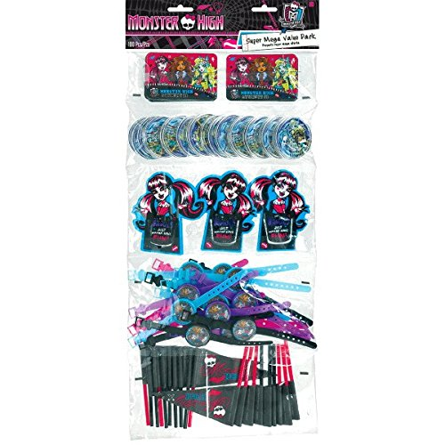 Monster High Favors Party Supplies | Party Favor | Pack of 100]()