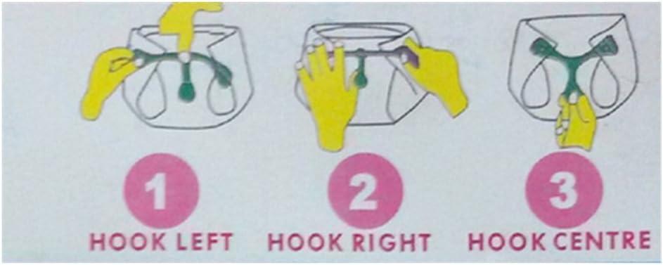 blu verde e rosa sostituisce il pannolino birilli HiCat 4 pezzi di stoffa o bambino pannolino