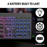 KLIM Light V2 Rechargeable Wireless Keyboard US