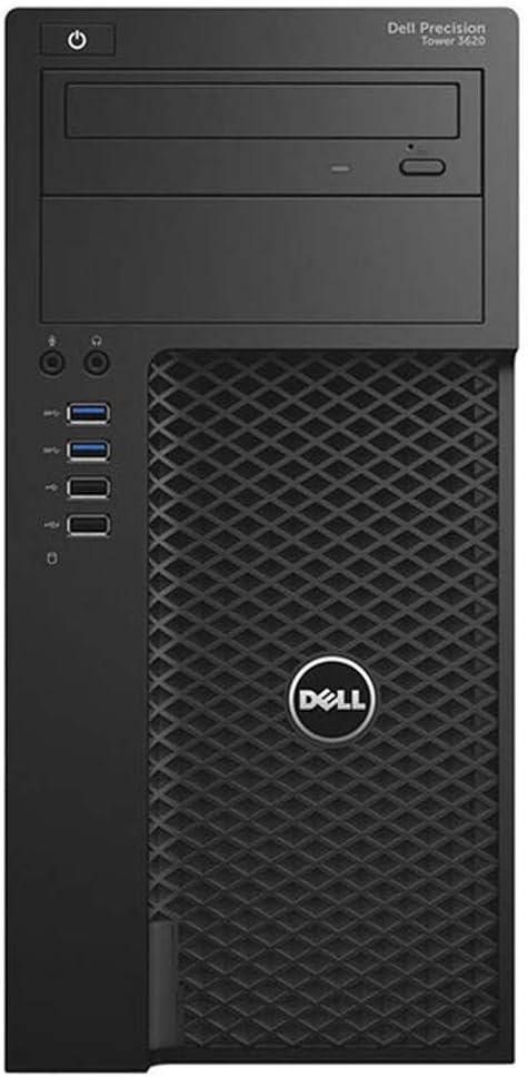 Dell Precision 3620 Mid-Tower Workstation - Intel Xeon E3-1280 v5 3.7GHz 4 Core Processor, 32GB DDR4 Memory, 512GB SSD, Nvidia Quadro M2000 Graphics Card, Windows 10 Pro. (Renewed)
