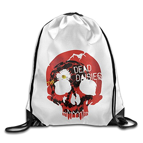 Bekey The Dead Daisies Noise Drawstring Backpack Sport Bag For Men & Women For Home Travel Storage Use Gym Traveling Shopping Sport Yoga - Shopping San Marcos