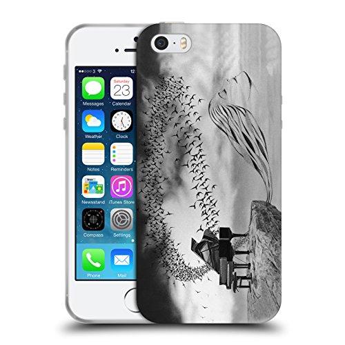 Officiel Graham Bradshaw Oiseau chanteur Illustrations Étui Coque en Gel molle pour Apple iPhone 5 / 5s / SE