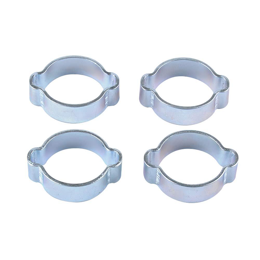 Set galvanis/¨/¦ Pince /¨/¤ Tuyau pour Carburant Double Collier de Serrage doreille 5-31mm 7-9MM A1799-02 RONSHIN 10pcs
