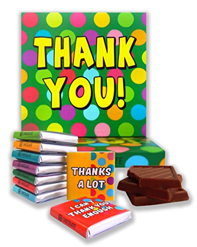 DA CHOCOLATE Candy Souvenir THANK YOU Chocolate Gift Set 5x5in 1 box (Prime)