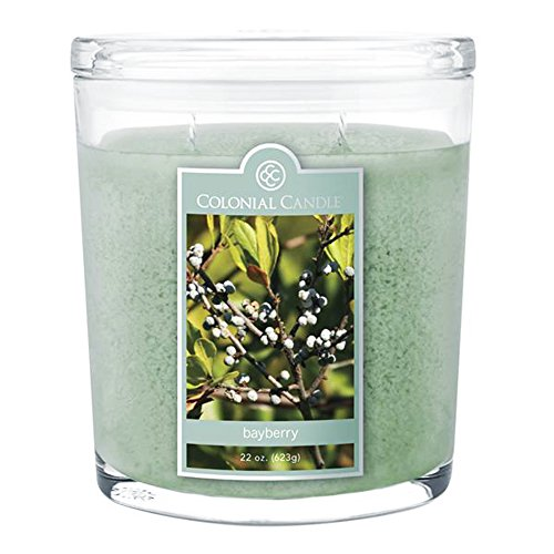 Bayberry Collection Large Oval Jar Colonial Candle, 22 oz ()