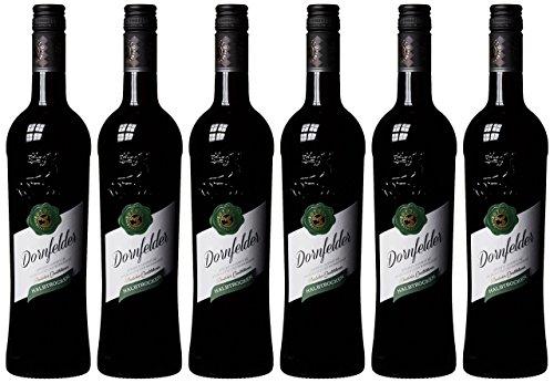 Rotwild Dornfelder Qualitätswein halbtrocken Pfalz  (6 x 0.75 l)