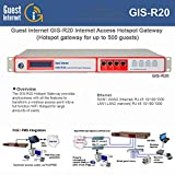Guest Internet GIS-R20 500+ Concurrent Users Gateway