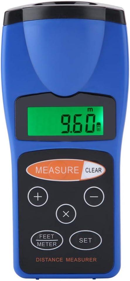 XFQ Telémetro Digital, Ultrasonido Digital Distancia Medida De Mano del Telémetro Distancia Herramienta De Medición