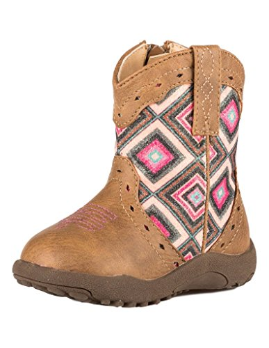 Pictures of Roper Infant-Girls' Cow Glitter Geo Pre- 1