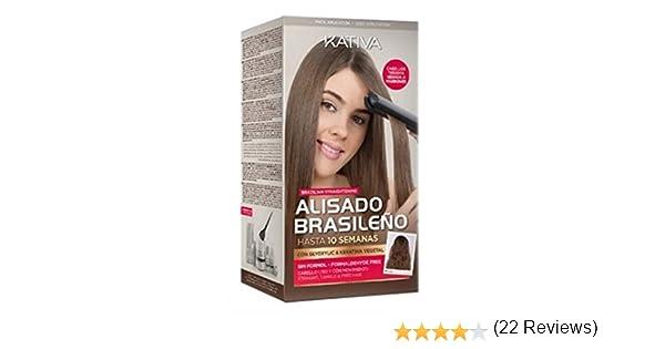 KATIVA ALISADO BRASILEÑO - ESPECIAL CABELLOS TEÑIDOS OSCUROS...: Amazon.es: Salud y cuidado personal