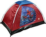 "Spiderman Youth 2 Pole Dome Tent with Zip ""D"" Doors, 5-Feet x 3-Feet x 36-Inch, Outdoor Stuffs"