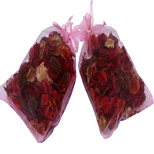 The Ambient Collection Rose Scent Potpourri 20 g Organza Bag x 2