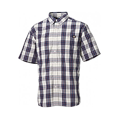 Dickies Herren Bradbury Karo-Hemd, kurzärmlig (S) (Braun kariert)