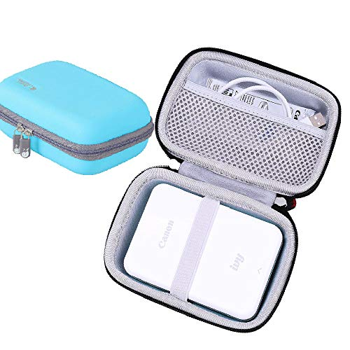 Hermitshell Hard EVA Travel Case for fits Canon Ivy Wireless Bluetooth Mobile Portable Mini Photo Printer (Mint Green)