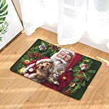 gel kitchen mats target Linker Wish Padded Kitchen Mat Christmas Animals Funny Cat Dog Doormat Bath Mats Foot Pad Home Decor Bathroom Mats Door Mat Floor Mat 5