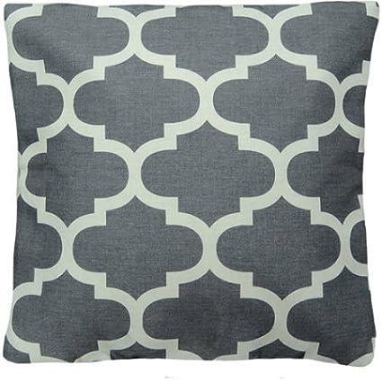 Amazon Mainstays Fretwork Decorative Pillow Grey Home Kitchen Gorgeous Fretwork Decorative Pillow
