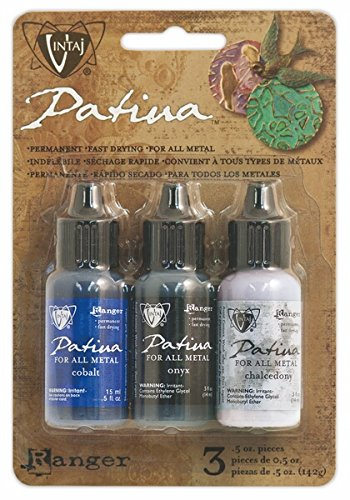 (Ranger Twilight In Paris Vintaj Patina Kit, 0.5 oz , Pack of)