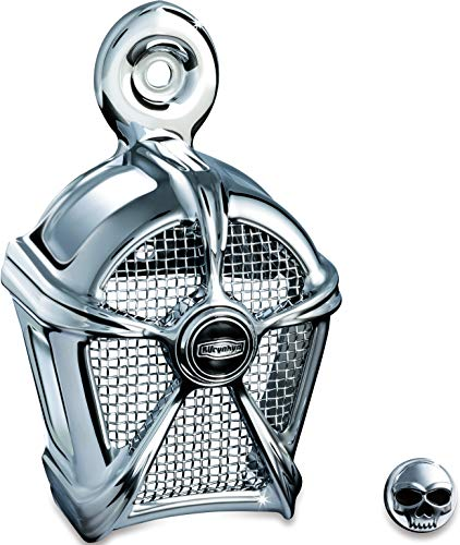 - Kuryakyn 7295 Motorcycle Accessory: Mach 2 Horn Cover for 1995-2019 Harley-Davidson Motorcycles, Chrome with Chrome Mesh