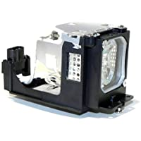 QueenYii 610-333-9740 / LMP111 / ET-SLMP111 Compatible for SANYO PLC-XU106 Replacement Projector Lamp with bulb inside