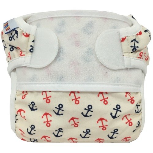 Bummis Swimmi Swim Diaper (Anchors Away, Small (9-15 lbs))