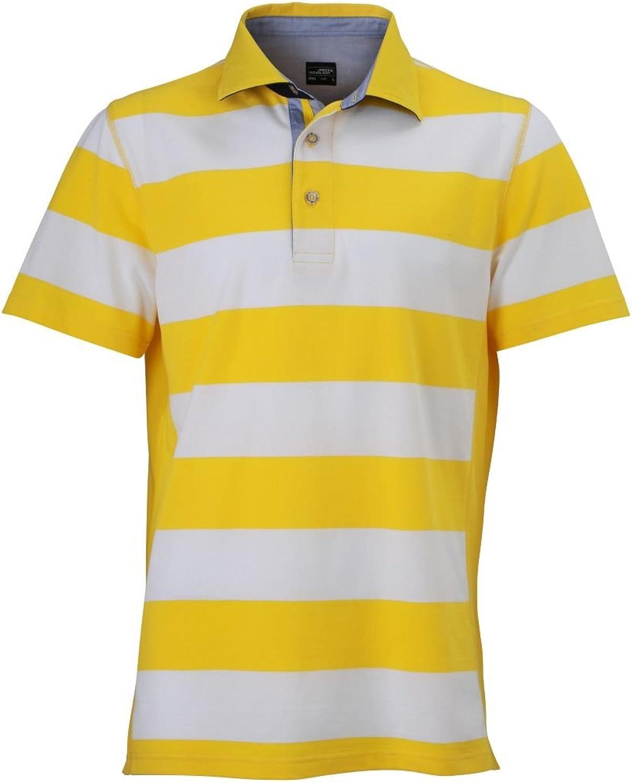 Camiseta Polo de Moda con Rayas Camiseta Polo Hombre náutico ...