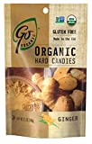 GoOrganic Ginger Hard Candies - 3.5-Ounce Bags (Pack of 6)