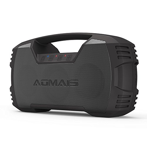 Review AOMAIS GO Bluetooth Speakers,Waterproof