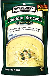 Good Bear Creek Country Kitchens Soup Mix, Cheddar Broccoli, 8.8 Ounce (Pack Of 6