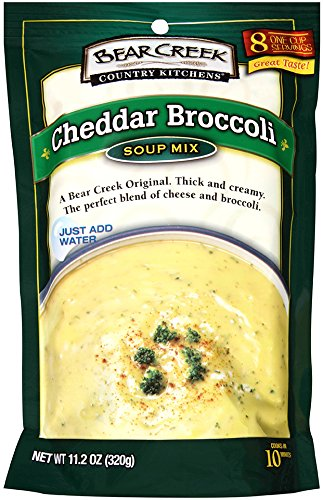 Bear Creek Soup Mix, Cheddar Broccoli, 8.8 Ounce (Pack of 6)