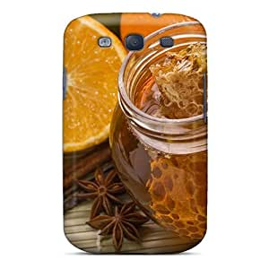 Fashion Tpu Case For Galaxy S3- Honey And Propolis Defender Case Cover