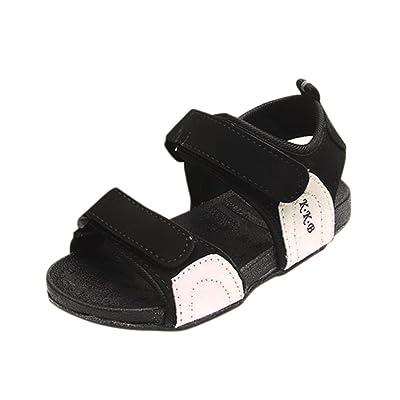 Bonjouree Sandales Fille Garçon Chaussures Souples Ete de Plage Pour enfant 4d873e7266f