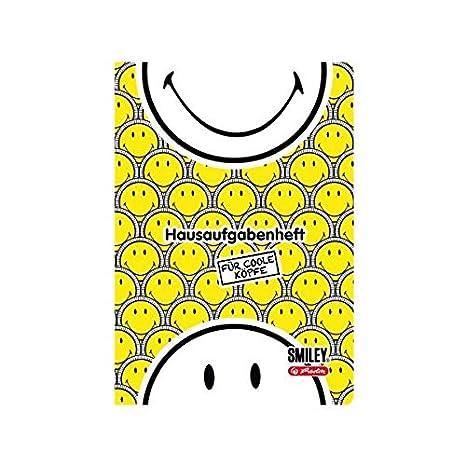 A5 Herlitz 50001699 Hausaufgabenheft Smiley World Girly