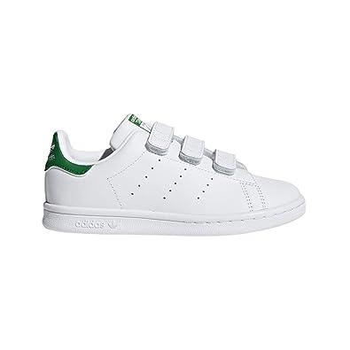 Adidas Kids Stan Smith CF C Originals Casual Shoe Frwwht