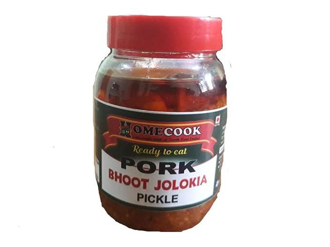 Basil Agrovet Pork Pickle with Bhut Jolokia