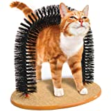 Jobar - Playtime Cat Arch, Helps prevent hairballs and controls shedding