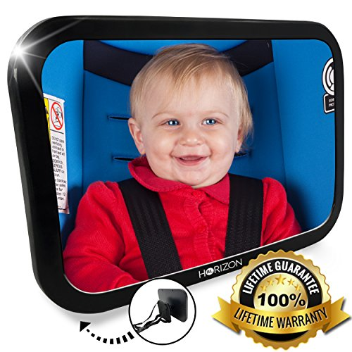 Best Review Of Baby Car Mirror for Rear Facing Infants, 360 Degree Back Seat Mirror for Kids, Keep C...