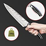 Chef Kitchen Knife - Stainless Steel Knife with