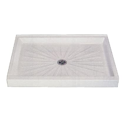 Attirant Mustee 3254M 32 In X 54 In Shower Base, White
