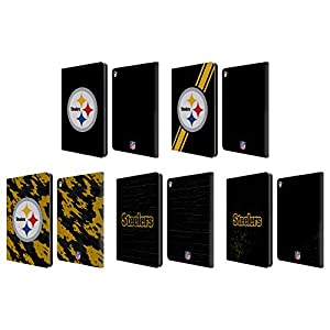 Official NFL Pittsburgh Steelers Logo Leather Book Wallet Case Cover For Apple iPad Pro 9.7 at Steeler Mania