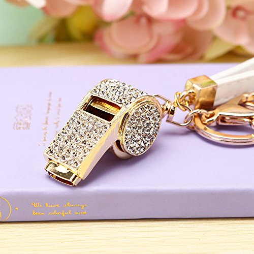 whistle lanyards with bling - 7