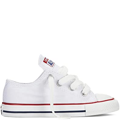 Converse Unisex-Kinder CTAS Seasonal-OX-Optical White-Youth Fitnessschuhe