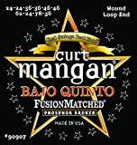 Curt Mangan Bajo Quinto String Set Wound Loop End, Phosphor Bronze