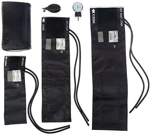 Prestige Medical 3-in-1 Aneroid Sphygmomanometer Set With Carry Case, Black by Prestige Medical