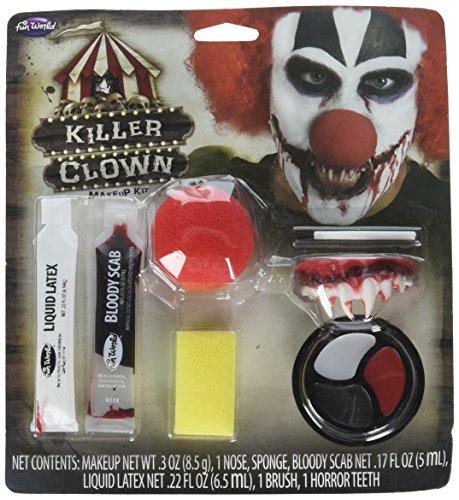 Halloween Killer Clown Make-Up Kit -