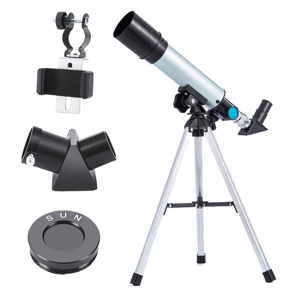 Astronomical Telescope Optical HD Refractor, Best 90X Magnification Portable High Power Telescope for Easy Assembly and Disassembly of Outdoor Hiking Telescopes by outdoor equipment