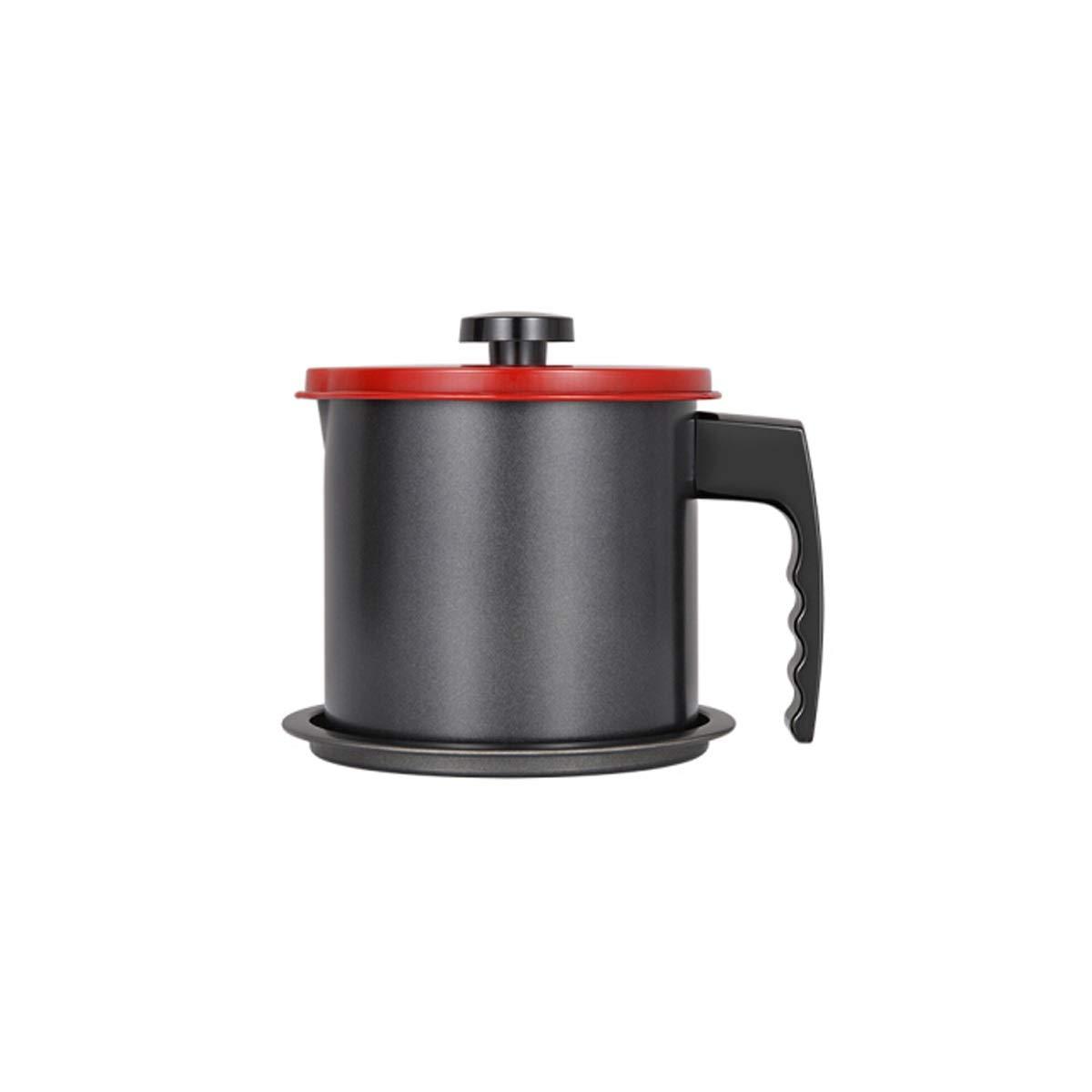 HENGTONGTONGXUN Oil Filter Pot Kitchen Household Leak-Proof Oil Bottle with Filter Oil Pot Multi-Function Oil Pot Oil Plug (Capacity : 1.3L) by HENGTONGTONGXUN