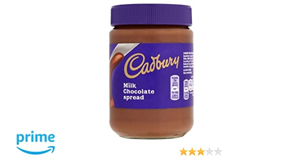 Cadbury Chocolate con Leche Spread - 400 gr: Amazon.es: Alimentación y bebidas