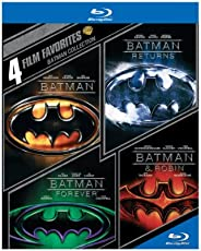 4 Film Favorites: Batman Collection (Batman / Batman Returns / Batman Forever / Batman & Robin) [Blu-