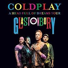 Coldplay A HEAD FULL OF DREAMS TOUR 2016 LIVE Glastonbury Festival 2CD set