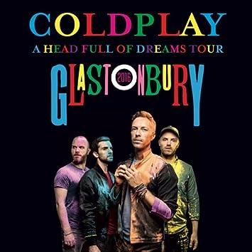 cd coldplay live at glastonbury festival